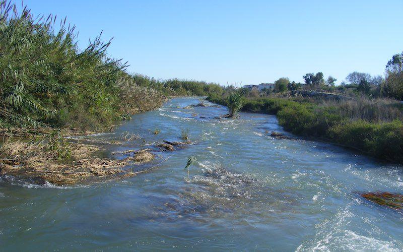 Rio Algar caudaloso