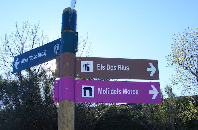 Rio Algar señalética