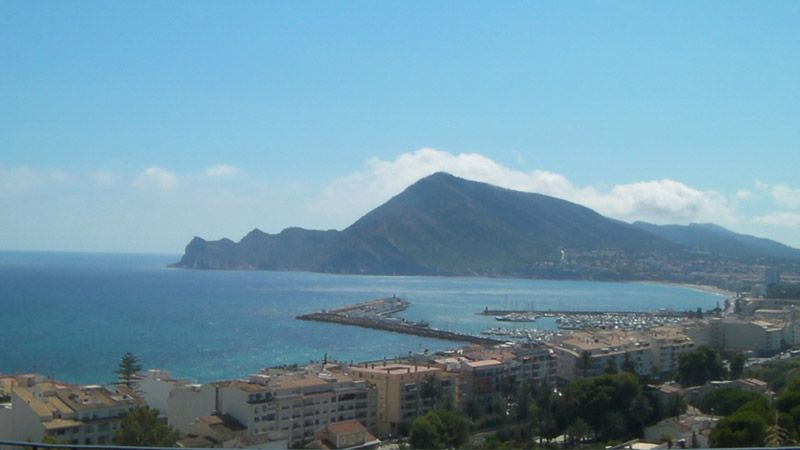 vista mirador Altea