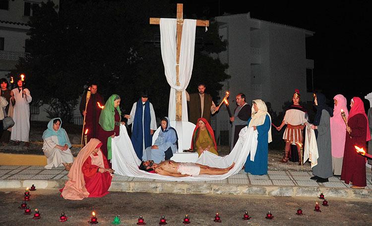 Via Crucis semana santa Altea