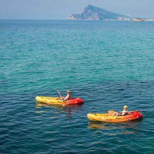 actividades náuticas en Altea