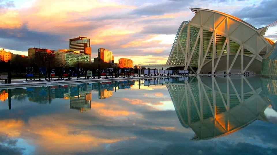 Arts Valence City Spain Valencia Science